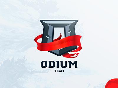 Odium Team [Concept logo] esport dota odium logotype лого