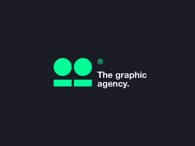 thisfakegraphic® graphic agency green black лого typography design logo awwwards technology clear logotype