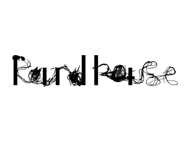 Roundhouse - soundscape project flow rhythm dance music arthouse branding concept branding and identity branding design branding logodesign strings painting handmade handlettering typography logo
