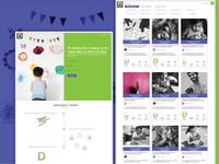 Dena - Crowdfunding website