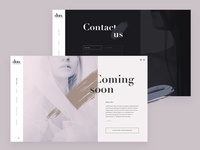 DUO Managment website design