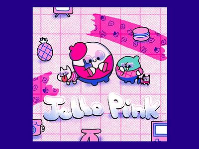 Jello Pink illustration design jello illustration art pink
