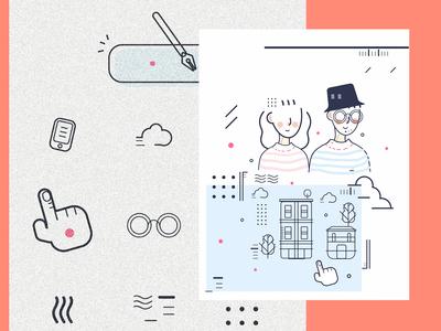 Graphic Design: line
