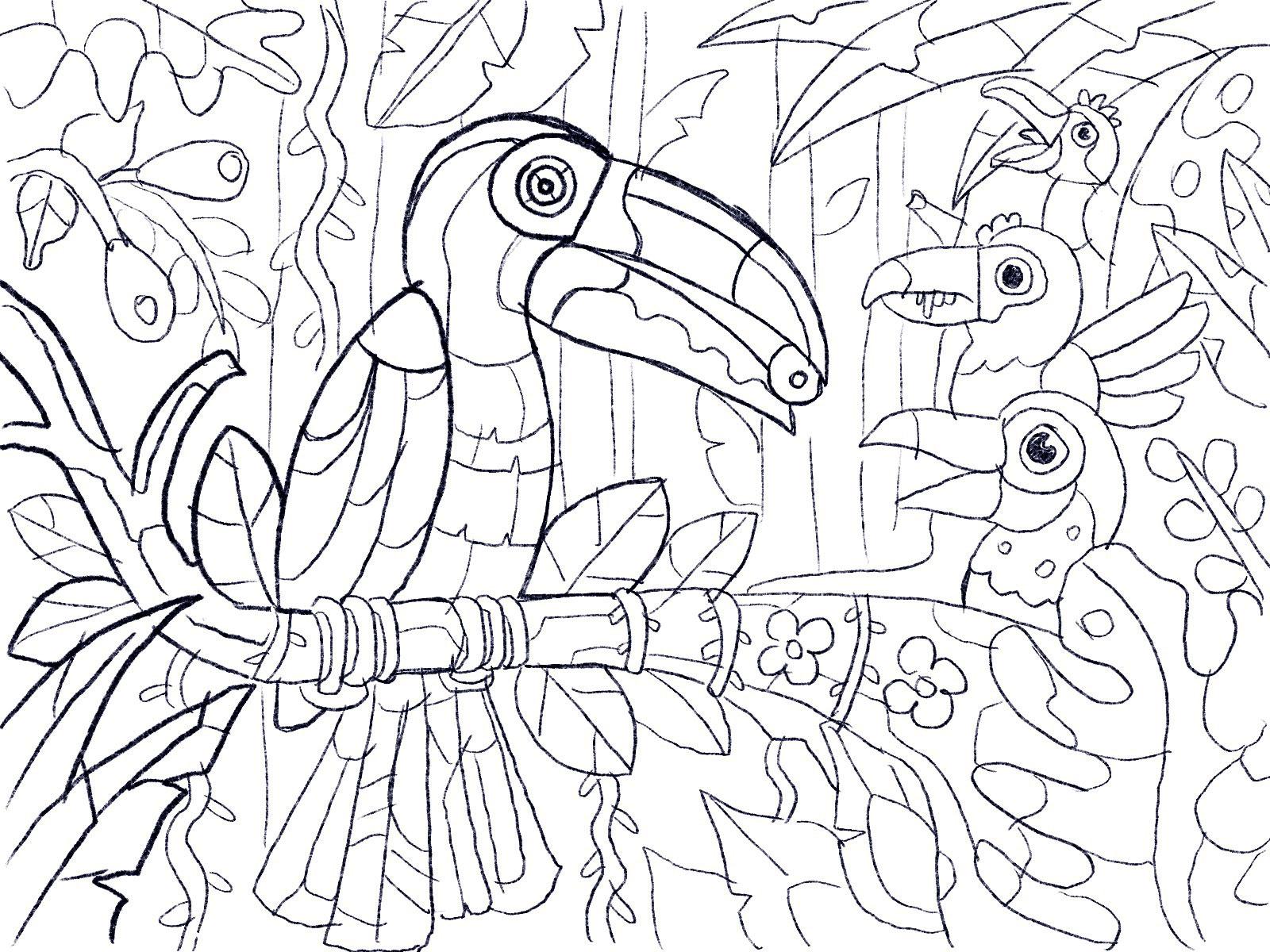 Alex Krugli Projects Gallery Coloring Book Decor Dribbble