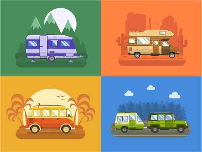 Rv Cars and Campers