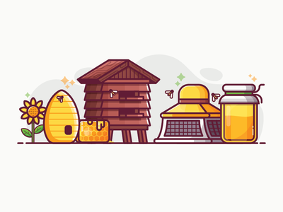 Beekeeping and Apiary Lifestyle