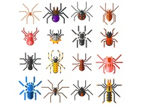 Flat Spiders Collection