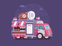 Summer Coffee Van