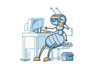 Ant Accountant Character