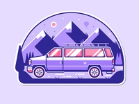 Travel Van RV Sticker