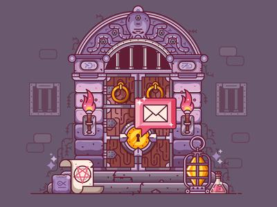 RPG Dungeon Door