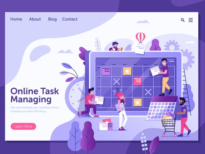 Online Task Board Managing