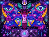 Transcendent Moth