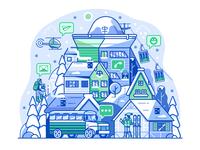Ski Resort Community Network