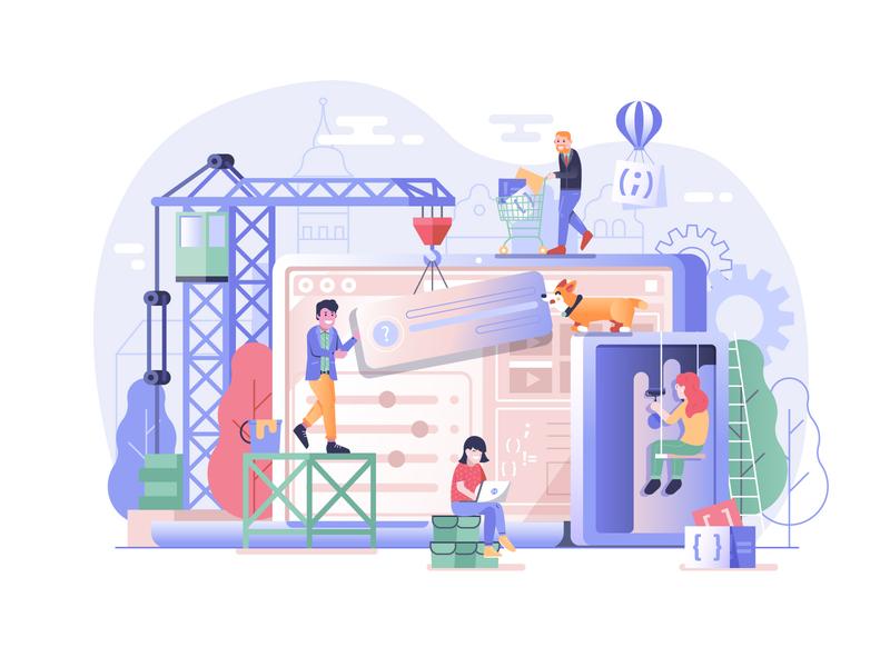 Web Site Developing Process