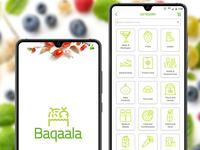 Baqaala  grocery shopping  App