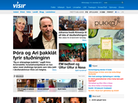 Vísir.is front page 2011