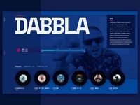 Dabbla Artist Page