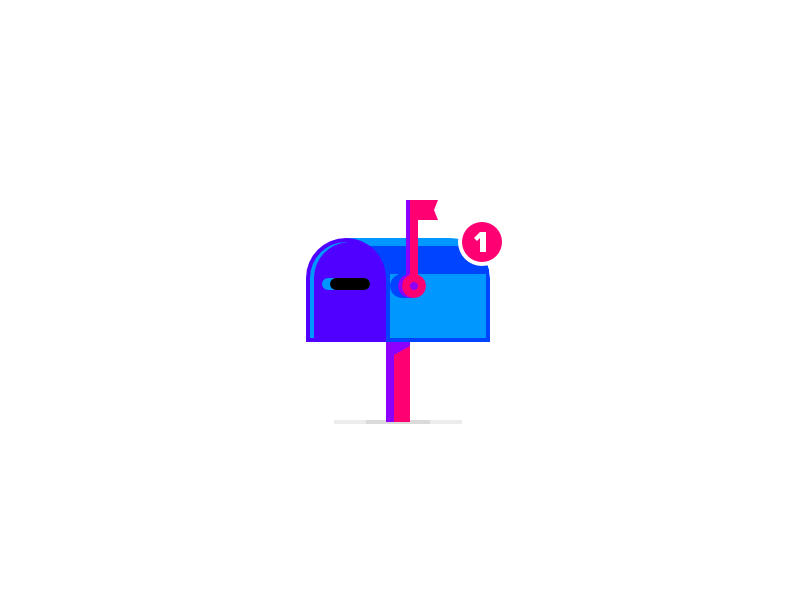 Mail Box affinity designer affinity letter icon vector logo mailbox box mail