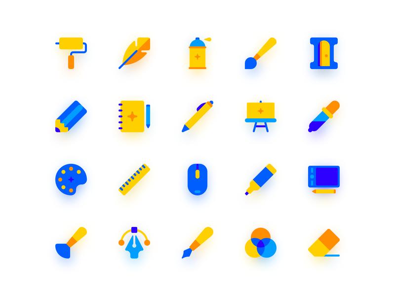 Creative Tools by Ruslan Babkin on Dribbble
