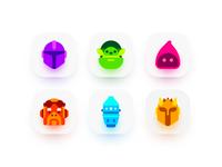 Mandalorian Icons star wars icon vector baby yoda illustration madeinaffinity affinity designer icons mandalorian