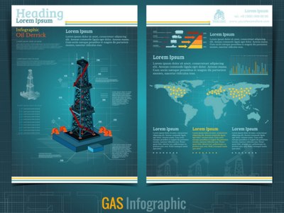 Mobile app for drilling and service of gas rig. gas rig app mobile drilling