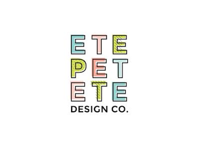 Logo Variation for Etepetete Design Co.