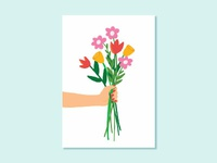Bouquet Illustration