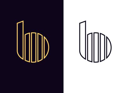 b logo