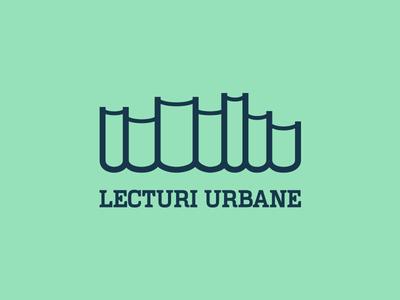URBAN LECTURE urban reading black logo cityscape city books lecture
