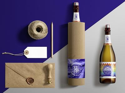 TRANSYLVANIA BREWING Co.- Giftpack packaging label illustration typography transylvania monogram handmade craft beer craft brewery beer
