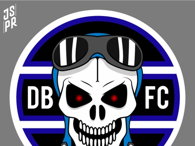DBFC branding logo design illustration