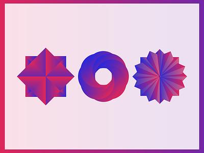 Proportions circle design circle colors proportions
