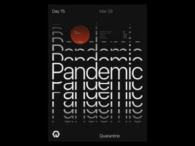 Quarantine Day 15 | 42.559 / -83.113 experiment quarantine design poster