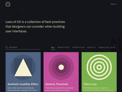Laws of UX Revamp web redesign ux ui design