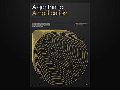 Algorithmic Amplification poster experiment design