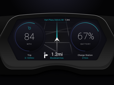 Instrument Cluster Study | 03