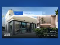 Private Property website redesign website inspiration web design clean adobe xd web digital design daily ui ui