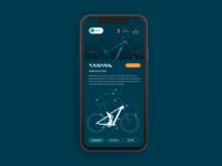 BICYCLE STORE ux mobile ui design app inspiration digital clean adobe xd daily ui ui