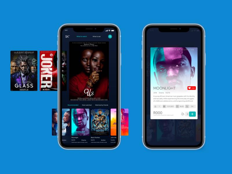 Sterkinekor mobile app redesign design app ux ui mobile ui cinema movie movie app