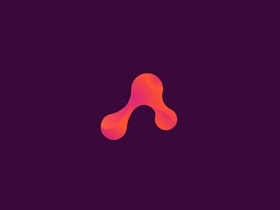 mojs logo goo molecule gradient mojs motion