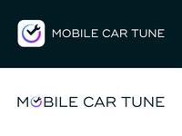 Mobile Car Tune Logo & Rebranding automotive wichita icon clock time car wrench mechanic branding logo