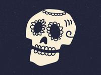 Sugar Skull - Mexican Art pixar disney coco texture dia de los muertos hispanic mexican art mexican skull sugar skull