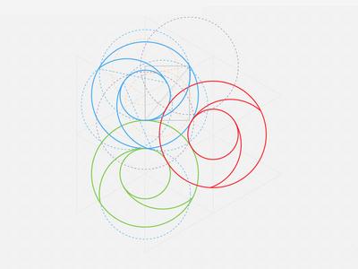 GO Launcher icon Redesign(View@2X) app icon sketch