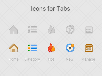 Some small icons ui icon
