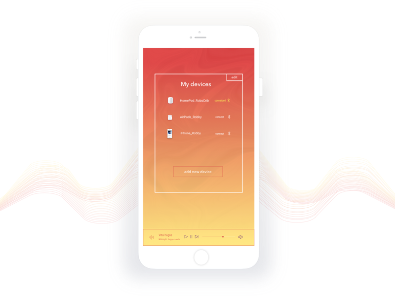 Daily Ui   Music Player challenge player music music player ios iphone concept mobile sketchapp daily ui
