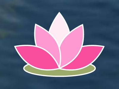 Holistic Pond Logo logo holistic lotus website