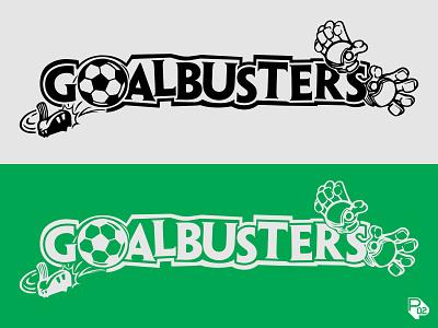 Goalbusters! youth sports texas soccer logo soccer graphic design sports identity logo vector illustration illustrator branding