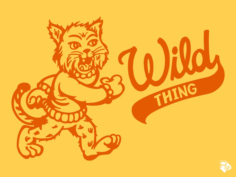 Wildcat tee - Wild Thing