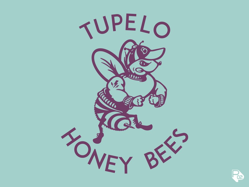 Tupelo Honey Bees tee
